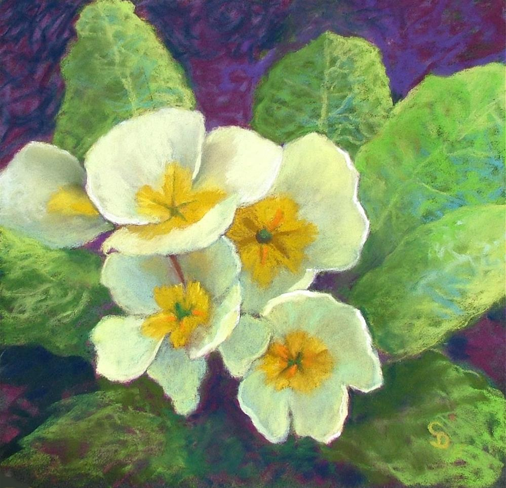 """Springtime Gold"" original fine art by Christine Derrick"