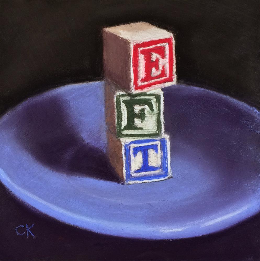 """EFT"" original fine art by Cristine Kossow"