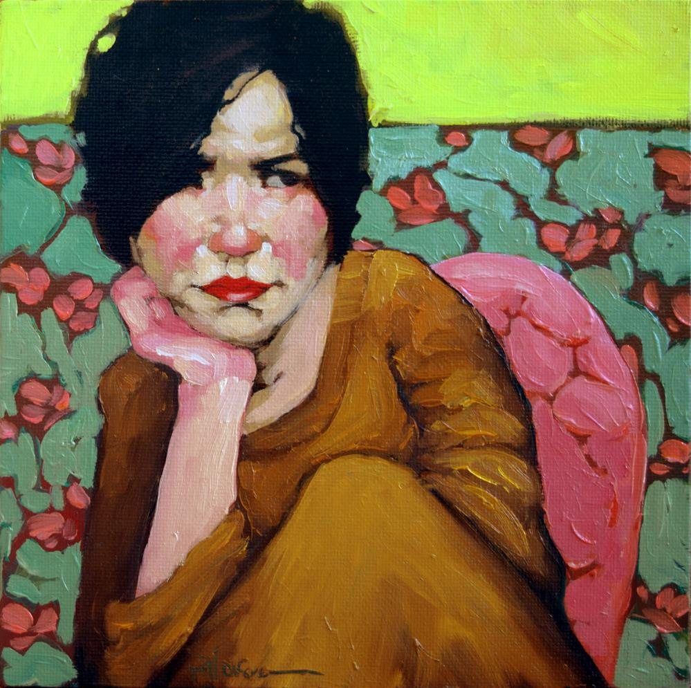 """Penelope"" original fine art by Kayleen Horsma"