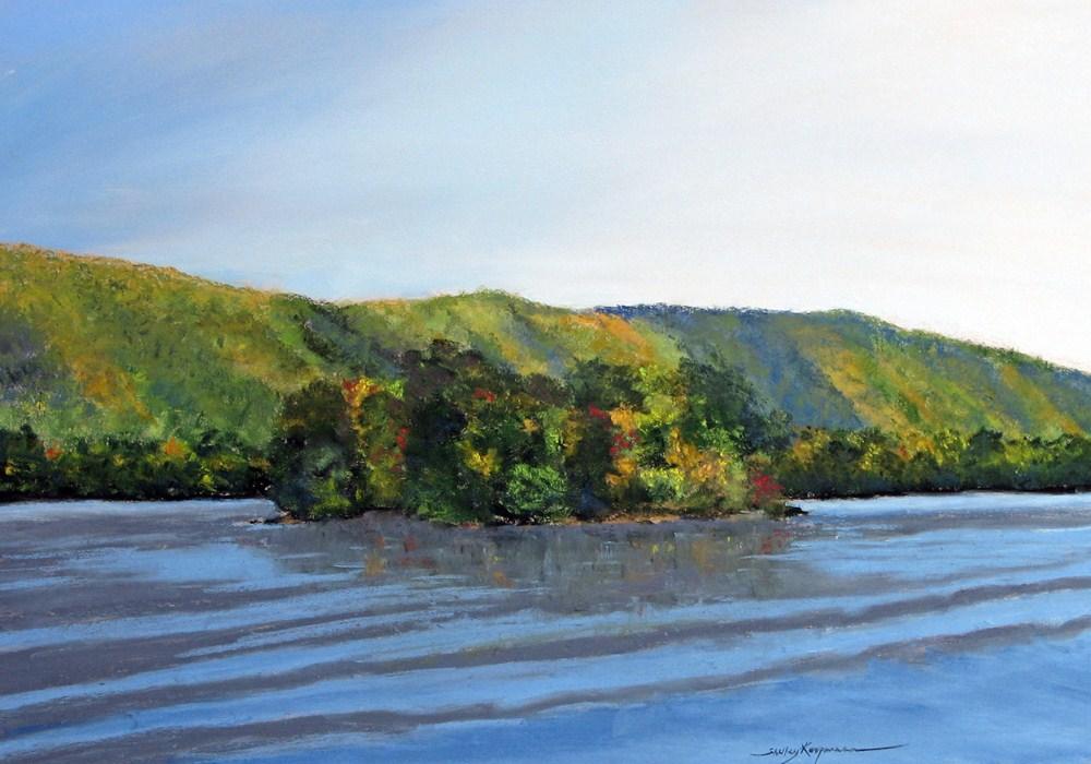 """Mountain Shadows"" original fine art by Shelley Koopmann"