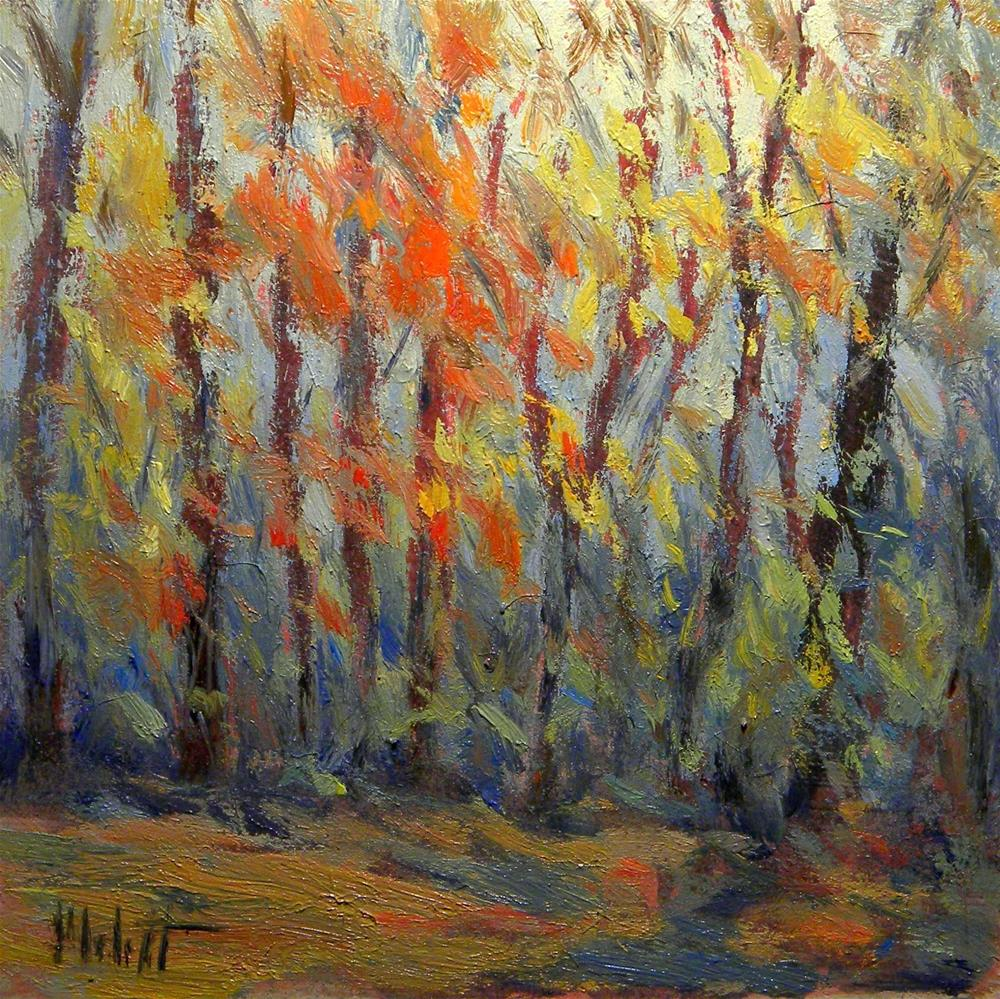 """Autumn Fall Colors Impressionist Oil Painting Heidi Malott"" original fine art by Heidi Malott"