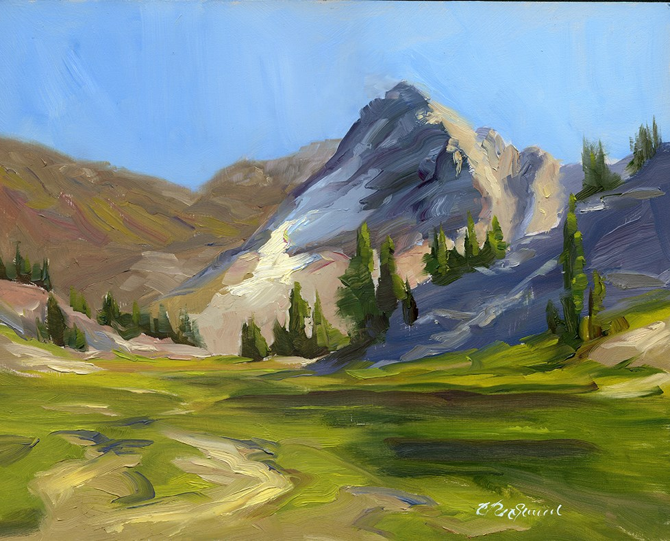 """High Country"" original fine art by B. Rex Stewart"