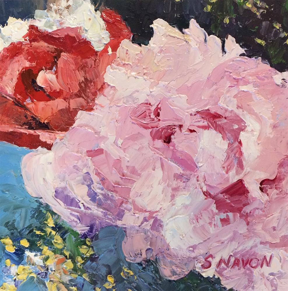 """""""Birthday Bouquet"""" original fine art by Stephanie Navon Jacobson"""