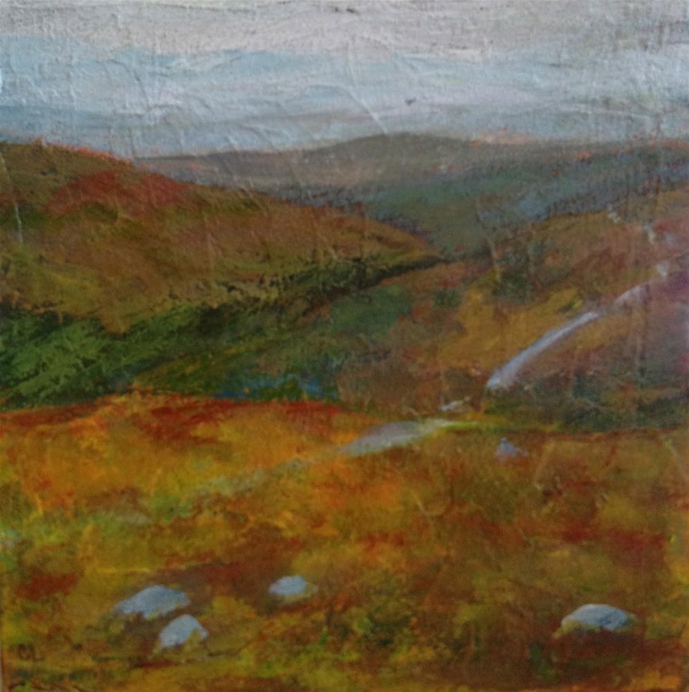 """""""West Highland Way I"""" original fine art by Ceci Lam"""