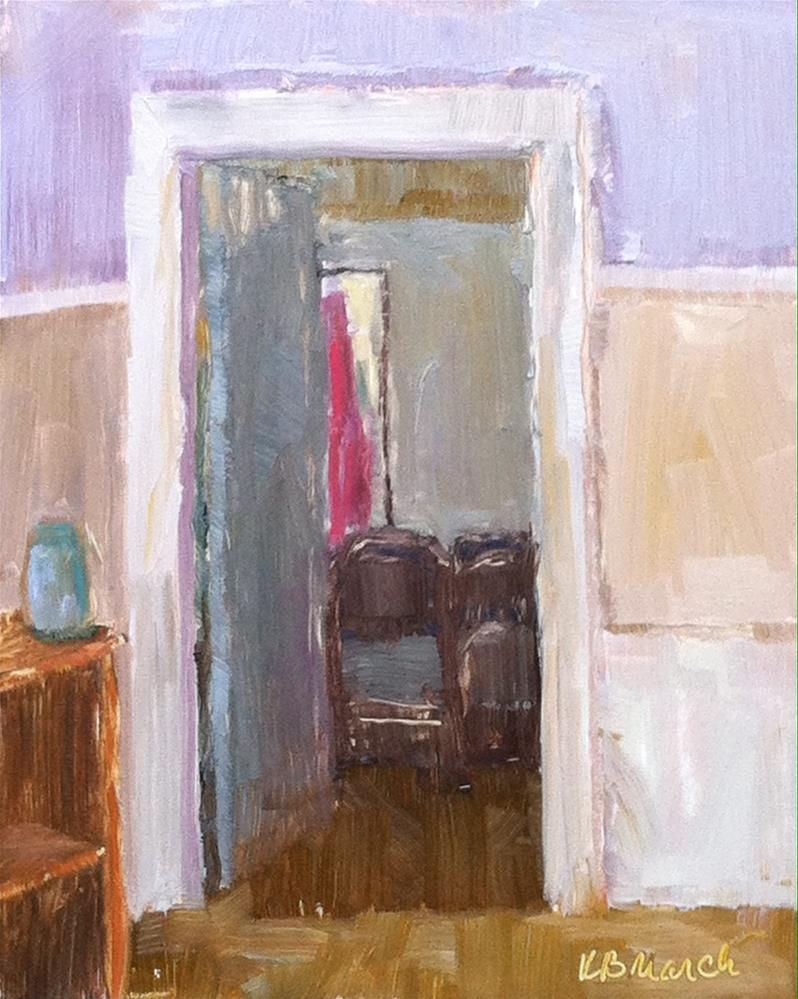 """""""View into the Closet"""" original fine art by Katharine March"""