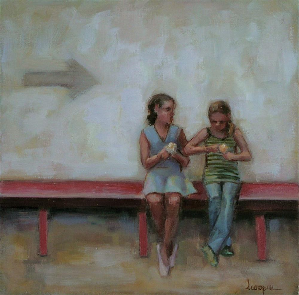 """Summer Friends"" original fine art by Dana Cooper"