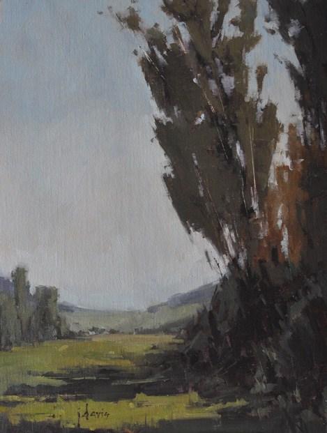 """Evening Shadows"" original fine art by Julie Davis"