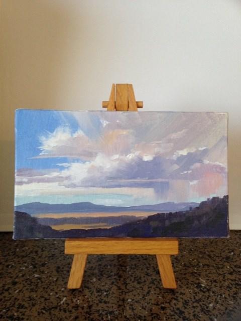 """Stormy Skies 3"" original fine art by Mary Jabens"