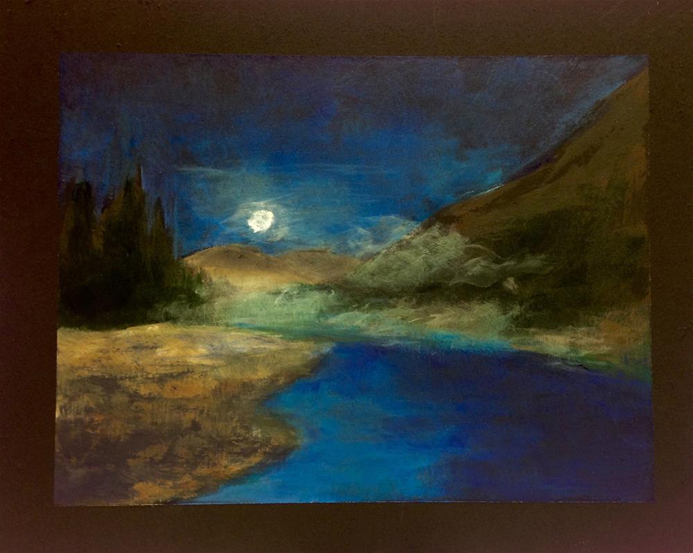 """Night Mist"" original fine art by Eileen Hennemann"
