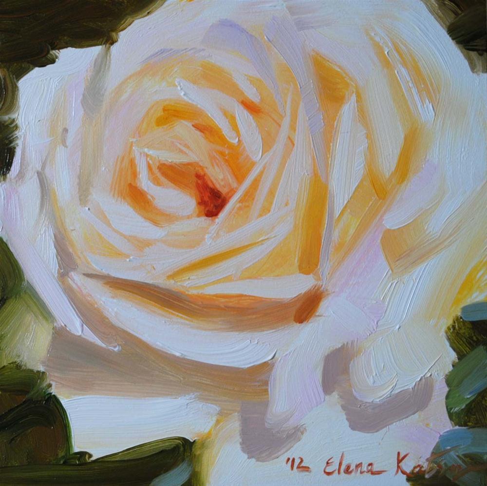 """A Rose from Biltmore Estate"" original fine art by Elena Katsyura"