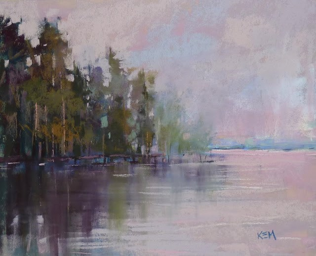 """""""A Quick Tip for Painting Reflections"""" original fine art by Karen Margulis"""