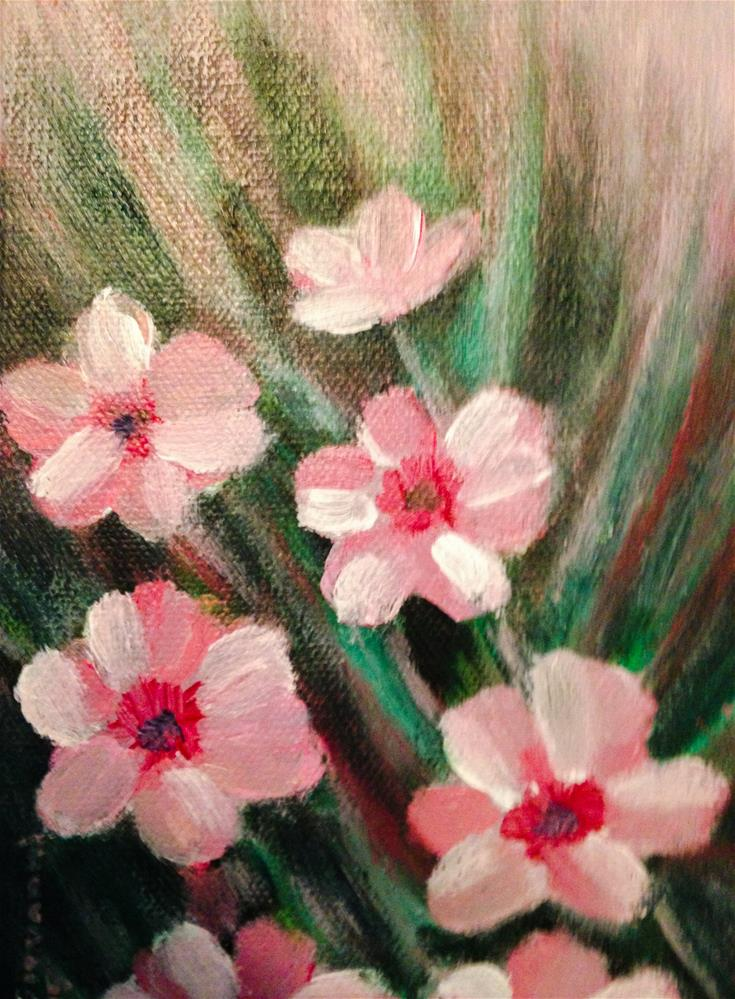 """Flowers"" original fine art by Giovanni Antunez"