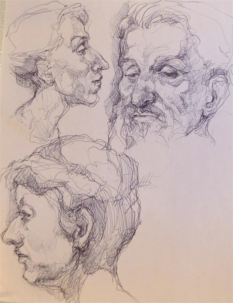 """sketchbook32"" original fine art by Katya Minkina"