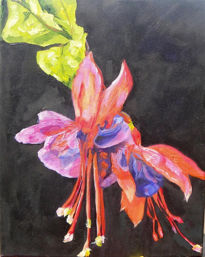 """Fuchsia"" original fine art by cheryl buhrman"