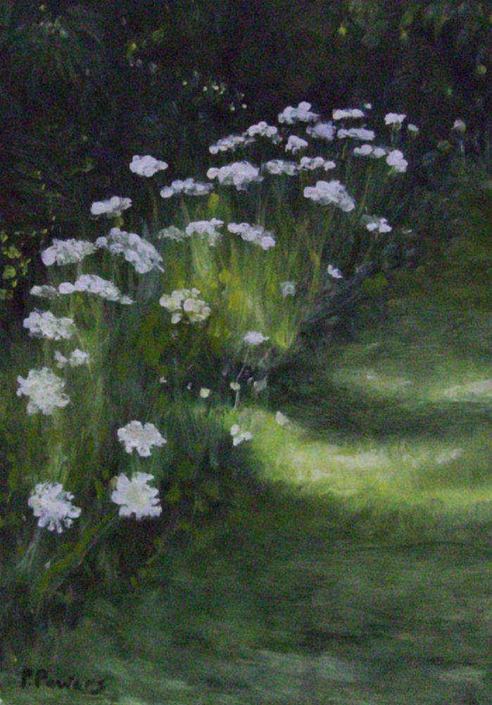 """Sunlit Path"" original fine art by Patricia J. Powers"