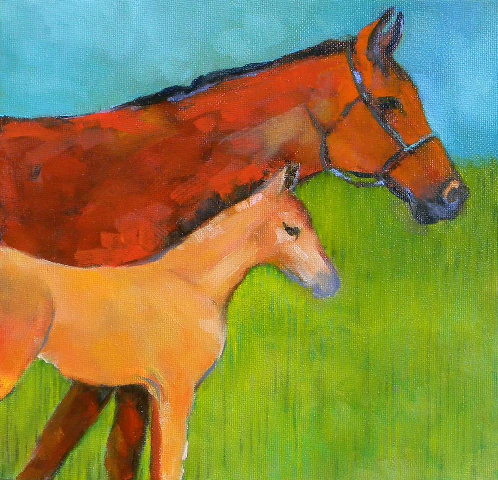 """Profile X Two"" original fine art by De Selby"