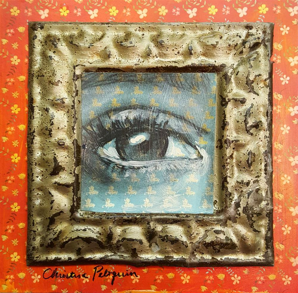 """""""True"""" original fine art by Christine Peloquin"""