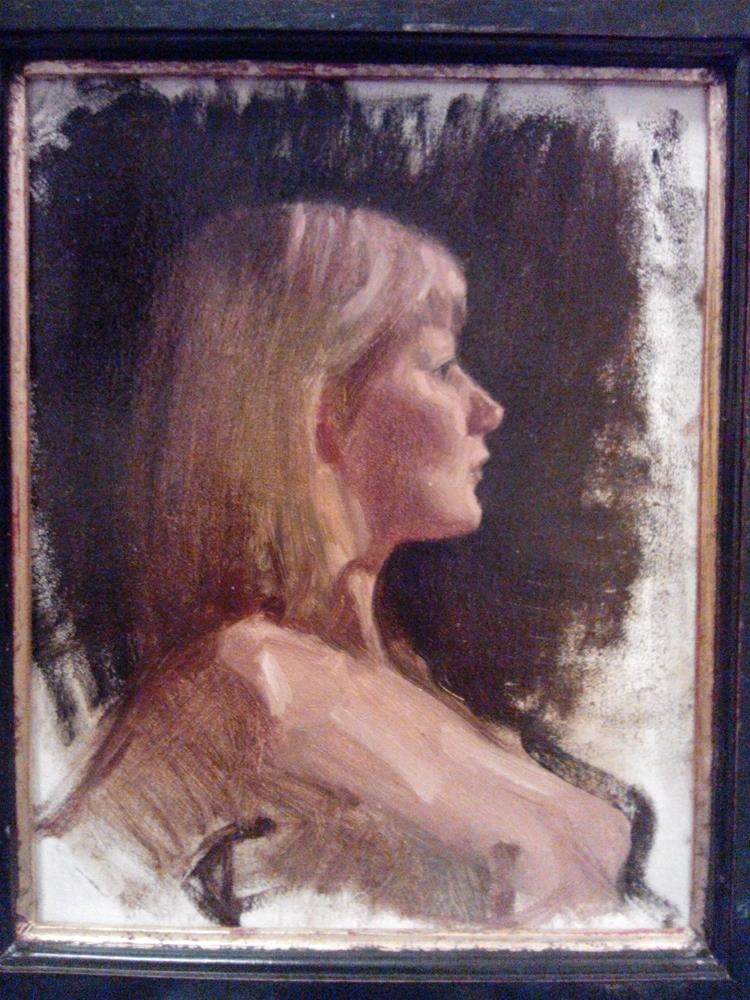 """Nude study"" original fine art by Nathan Sowa"