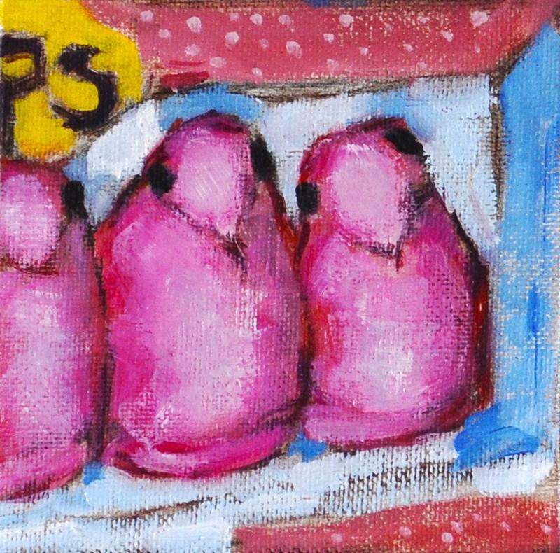 """""""Pink Easter Peeps"""" original fine art by Kevin Inman"""