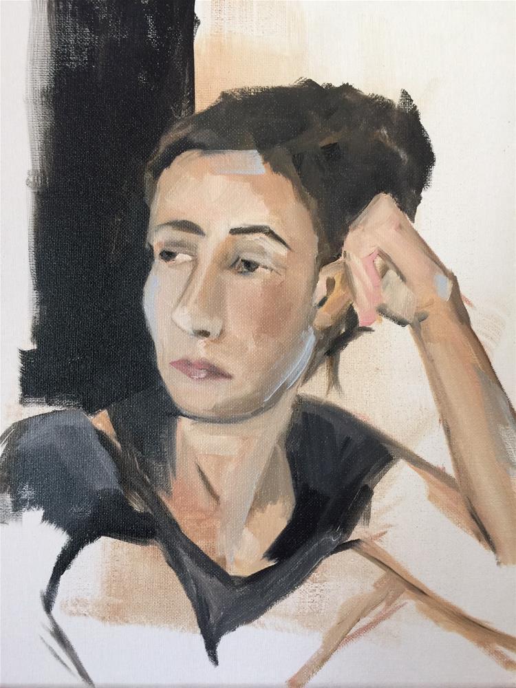 """""""337 Barbara in August"""" original fine art by Jenny Doh"""
