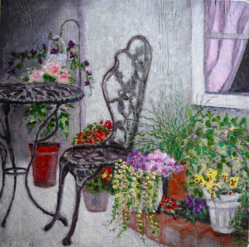 """""""Garden Variety"""" original fine art by Karen Roncari"""