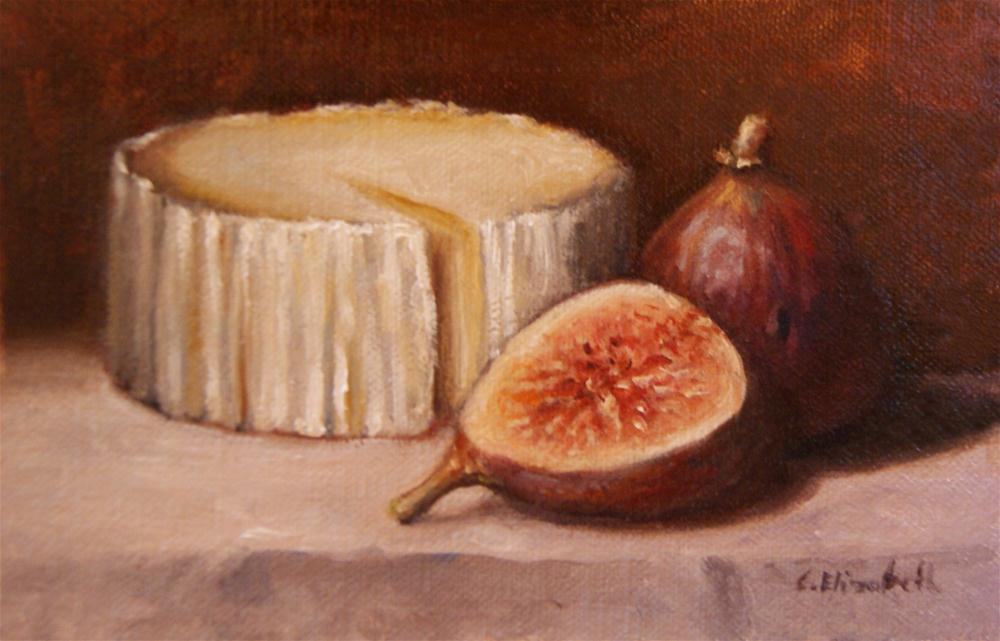 """Caña de Oveja with Figs"" original fine art by Carolina Elizabeth"