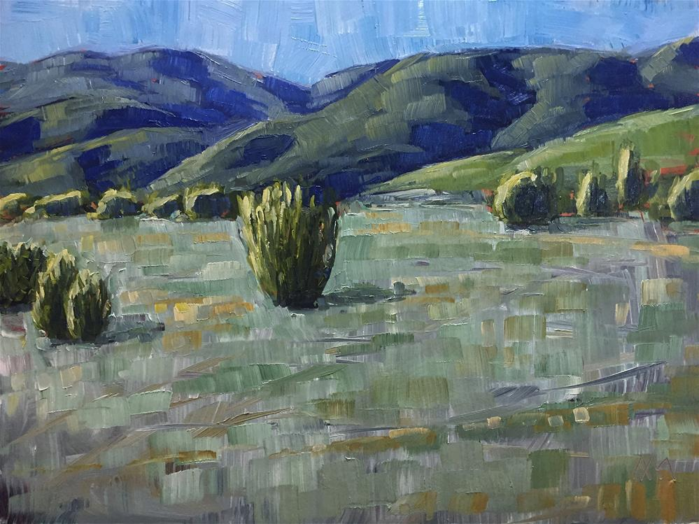 """Foothills"" original fine art by Austin Maloney"