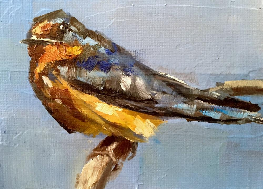 """Barn Swallow"" original fine art by Gary Bruton"