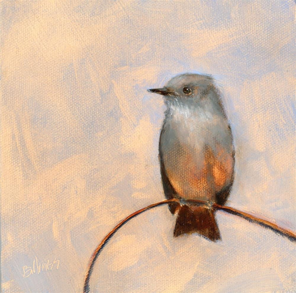 """Say's Phoebe I"" original fine art by Susanne Billings"