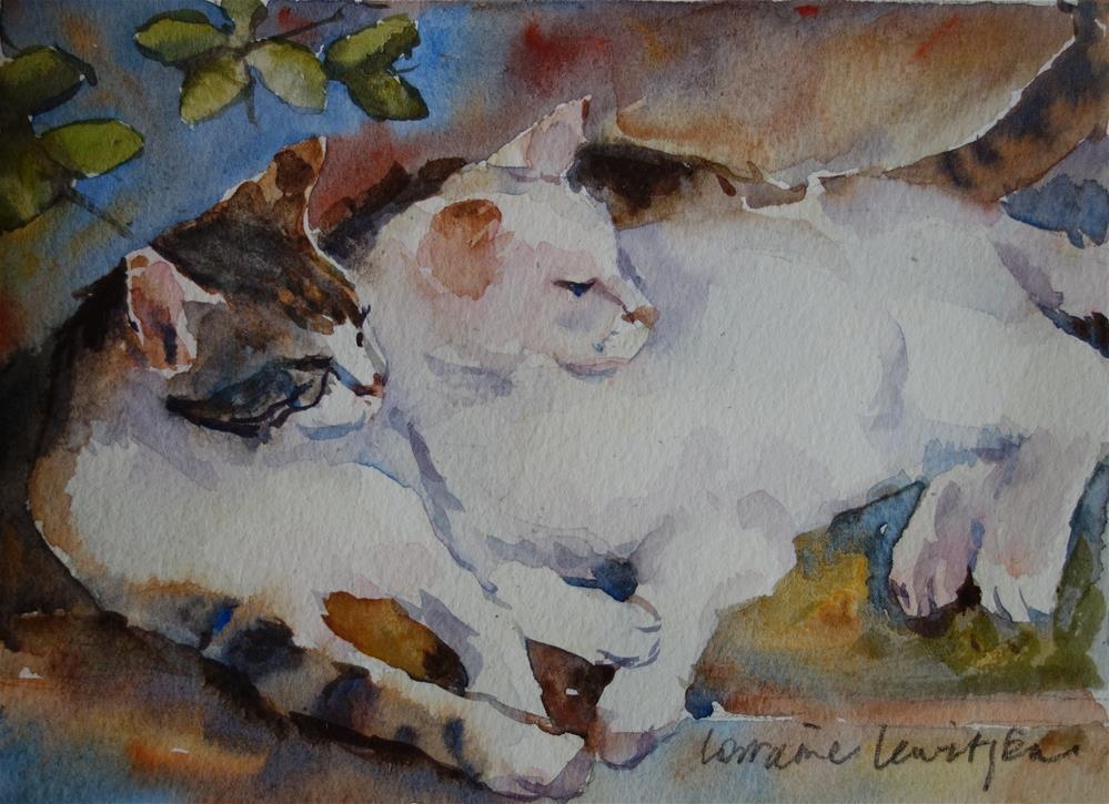 """His and Hers"" original fine art by Lorraine Lewitzka"
