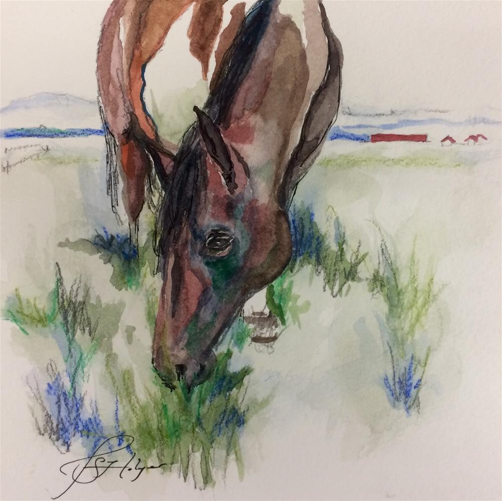 """Junior"" original fine art by Jen Holyer"