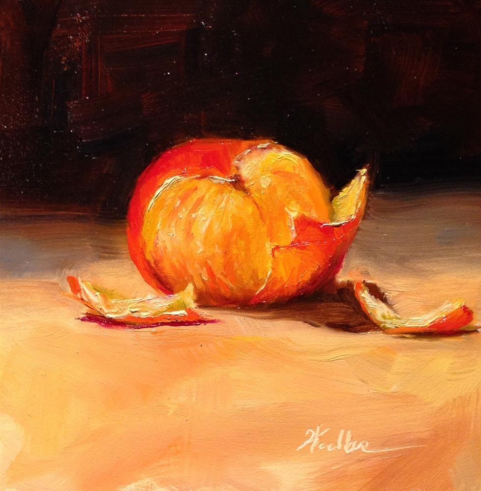 """Freshly Peeled"" original fine art by Dorothy Woolbright"