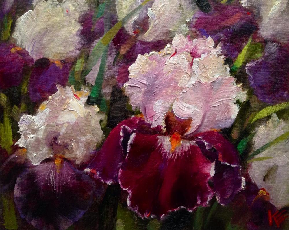 """""""Garden of Beauty"""" original fine art by Krista Eaton"""