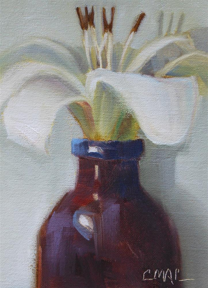 """Light and Dark"" original fine art by Carolyn McDonald"
