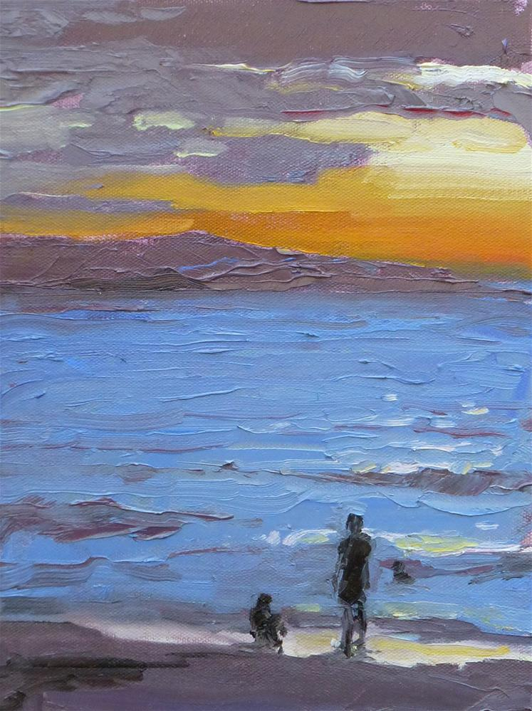 """Last Evening on Maui"" original fine art by Jeri Ireland"