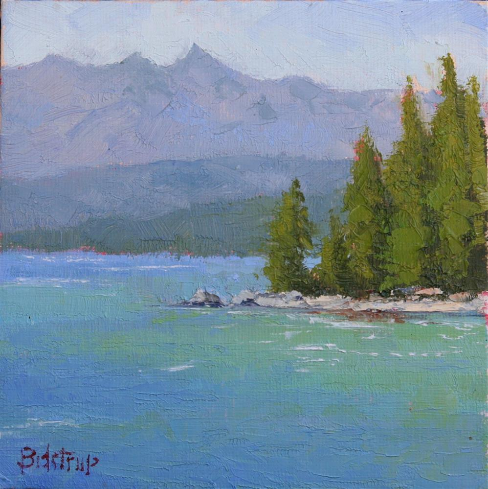 """Rubicon Peak"" original fine art by Mark Bidstrup"
