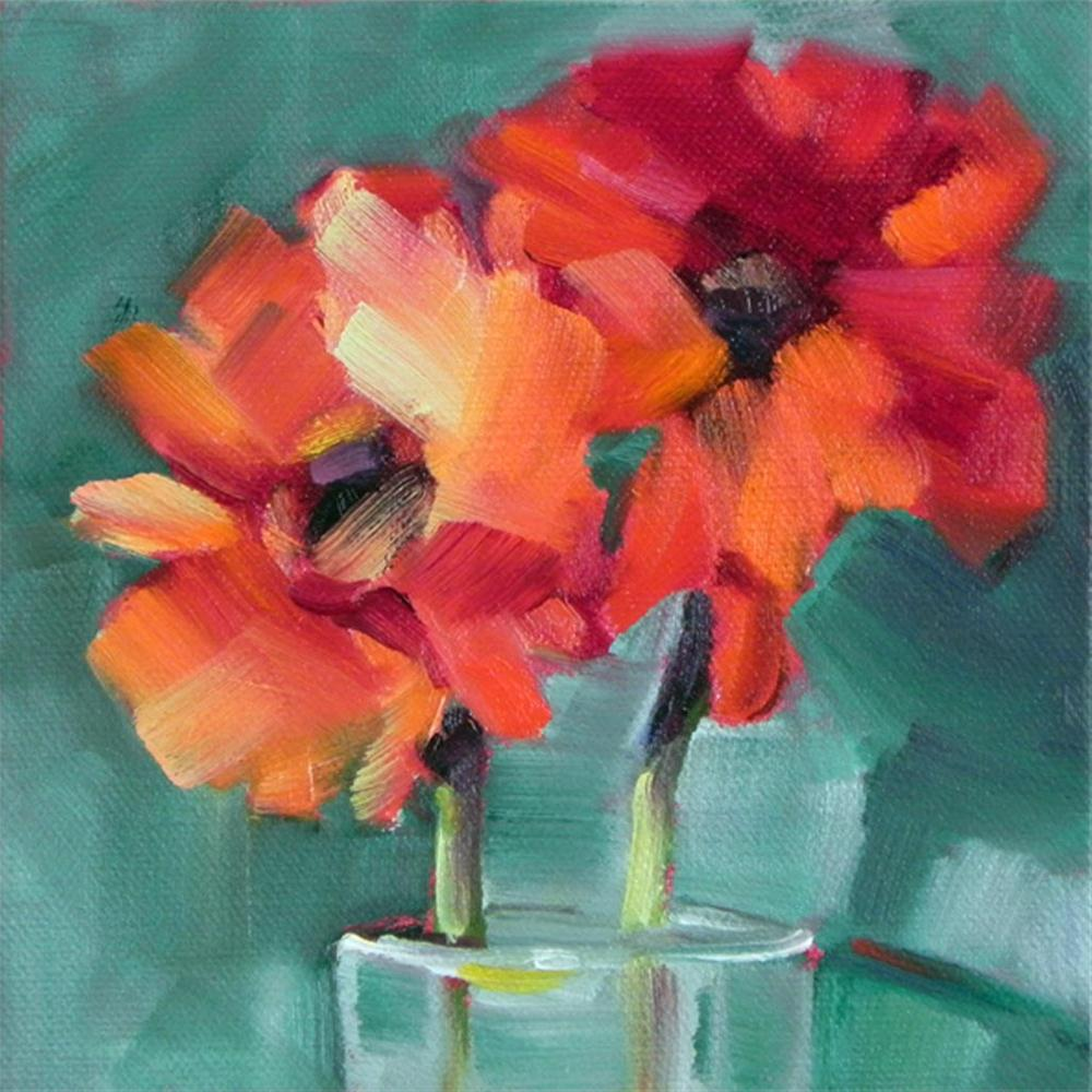 """Flowers #2"" original fine art by Cheryl Wilson"