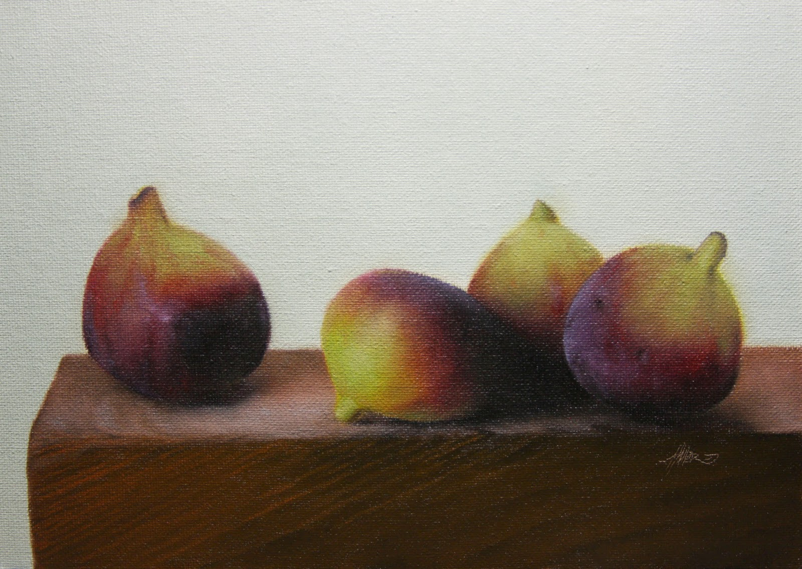 """Fig Lecture"" original fine art by Jonathan Aller"