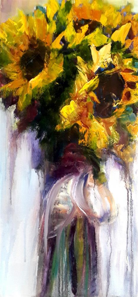 """""""Bunch of happiness"""" original fine art by Rentia Coetzee"""