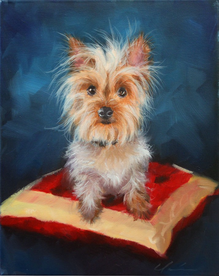 """Millie"" original fine art by Clair Hartmann"