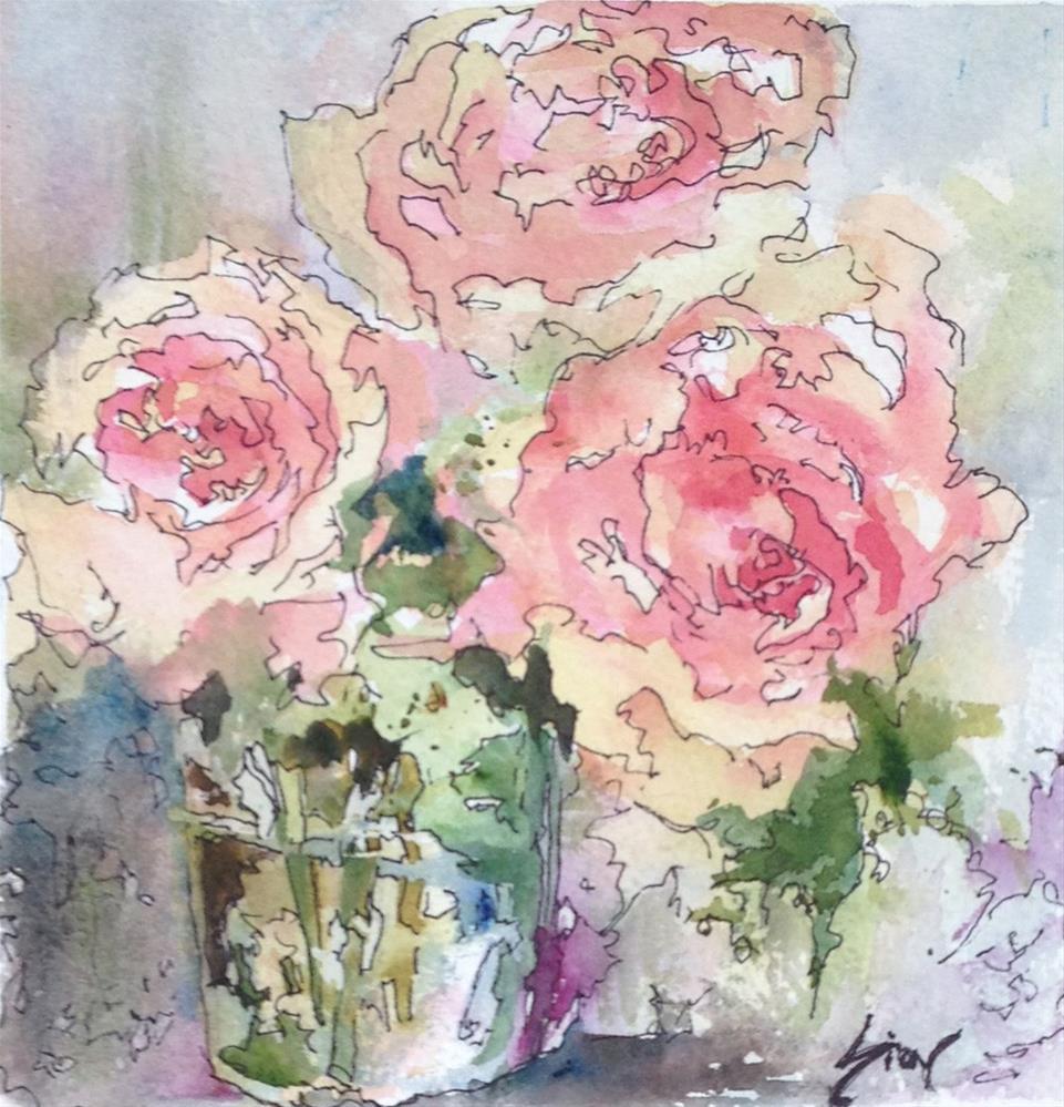 """""""Summer Song"""" original fine art by Sue Dion"""