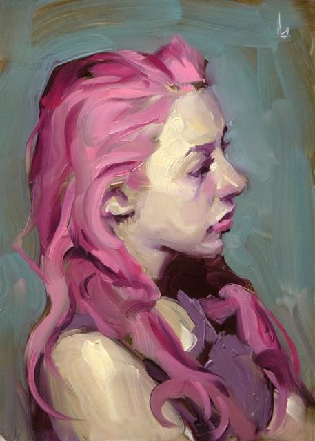 """Sour Candy"" original fine art by John Larriva"