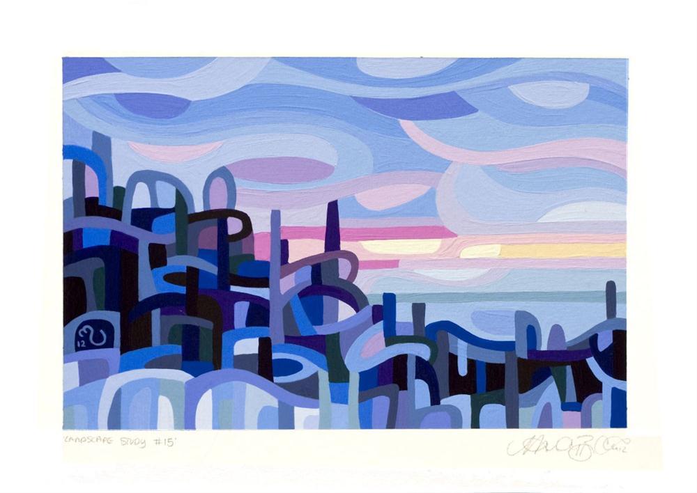 """Landscape Study #15"" original fine art by Mandy Budan"