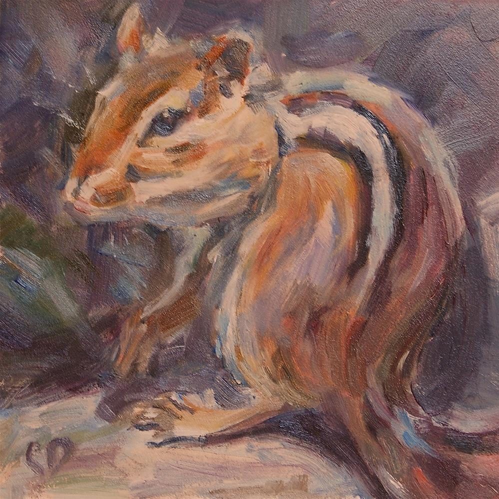 """Chip"" original fine art by Carol DeMumbrum"
