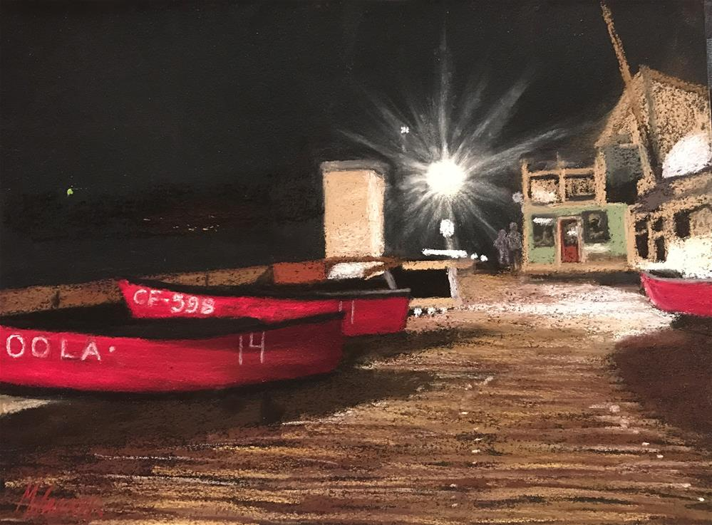 """AFTER HOURS"" original fine art by Marti Walker"