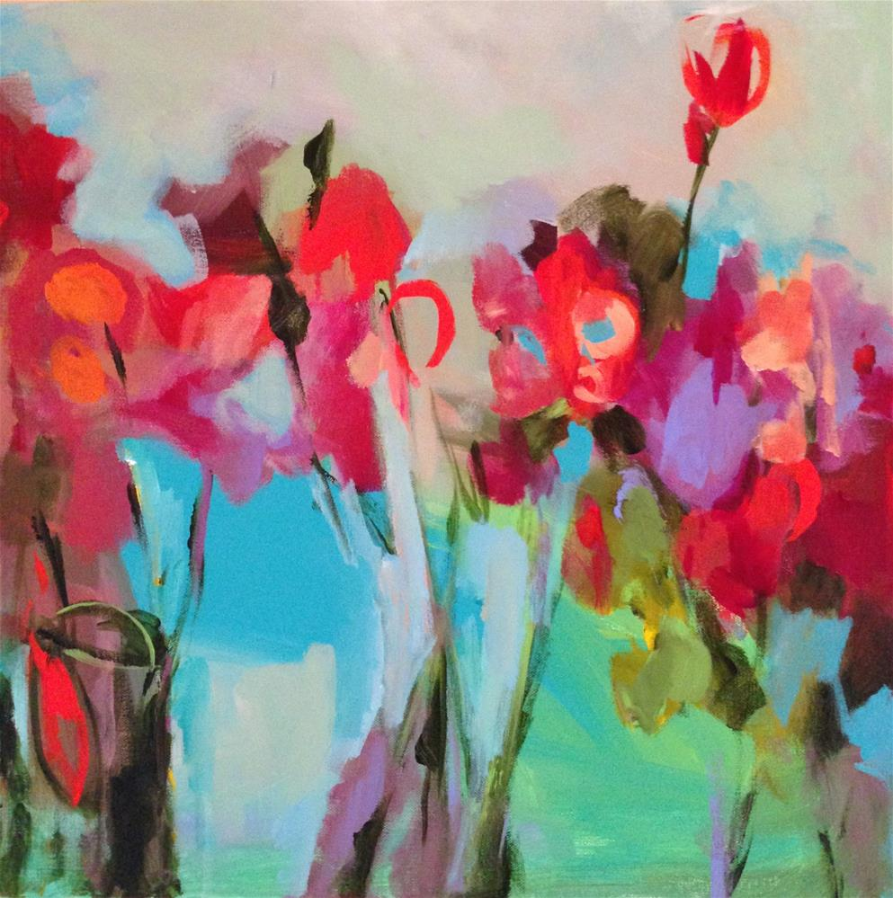 """Spring Up"" original fine art by Molly Wright"