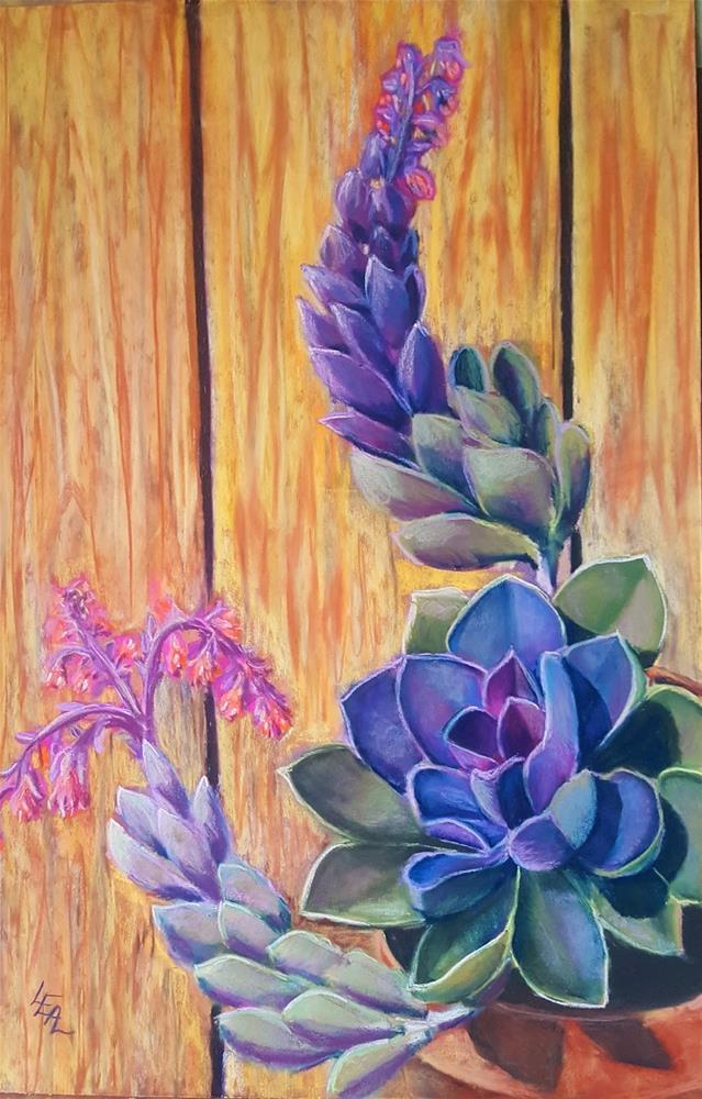 """Bloomin' Chicks"" original fine art by Anna Lisa Leal"