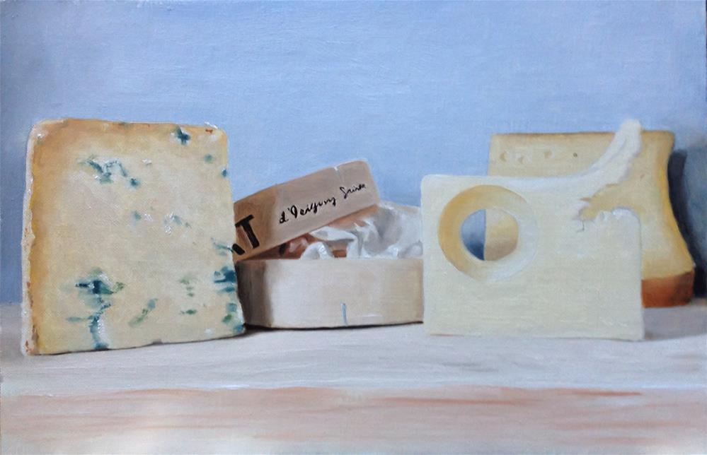 """Cheese Board"" original fine art by James Coates"