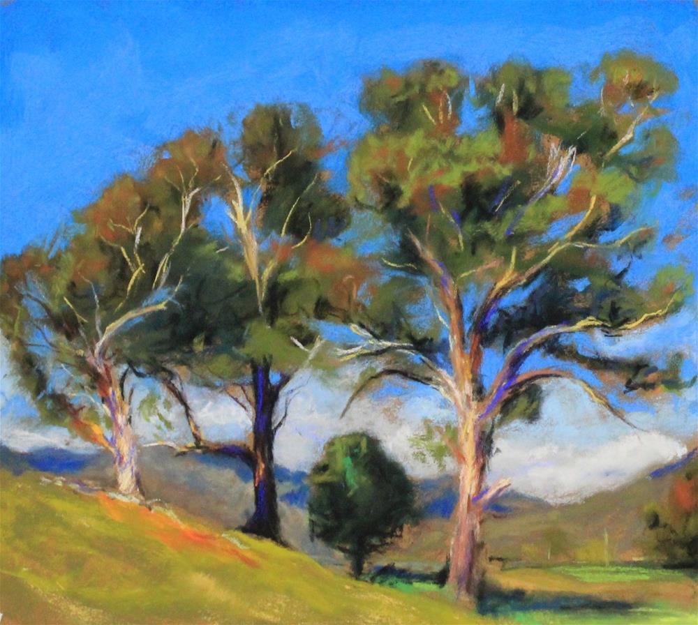 """""""pastel landscape"""" original fine art by Marco Vazquez"""