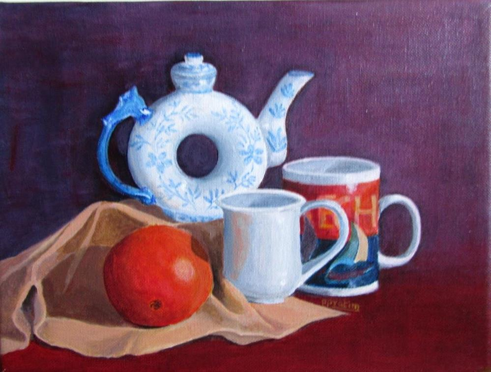"""Still life - 1"" original fine art by Pratima Patel"
